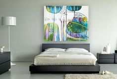 Large Canvas Art Print  Painting Reproduction by MirnaSisul, $340.00