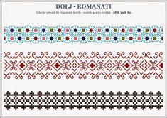 Semne Cusute: motive traditionale OLTENIA, Dolj - Romanati