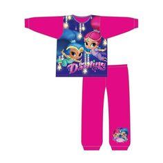 "Shimmer /& Shine /""Wish/"" Girls Pajama Set 2-Piece Pajamas 1-5 Years"