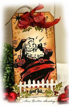 More Christmas tags