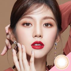 LENS TOWN Blen Daze Brown Manufacturer : LENS TOWN [SILICONE HYDROGEL] Dia : 14.3mm BC : 8.8mm Graphic Dia : 13.1mm Period of Use : 1 months after opening #contact_lense #colors_contact_colors #color_contacts_online #color_contact_lenses_online #korea_color_contact_lense #korea_color_lense #korea_color_contact#Lens_Town #lenstown#brown_contact_lenses #kosmeshop Color Contact Lenses Online, Brown Contact Lenses, Best Contact Lenses, Cosmetic Contact Lenses, Coloured Contact Lenses, Soft Makeup, Natural Makeup, Eye Makeup, Circle Lenses