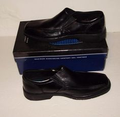6c589d0b1ac Nunn Bush Jefferson Black Leather Size 8 1 2 Slip On Formal Dress Loafers  Shoes