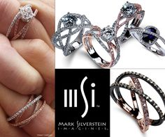 We are in serious need of some midweek bliss in the form of @msimagines sapphire, black rhodium, and champagne diamond rings. Make your lunch hour way more fun by customizing your own 18k rose gold and diamond strand crossover band: http://shop.msimagines.com/ProductDetails.asp?ProductCode=2001-18kw-b Check out the whole collection: http://www.msimagines.com