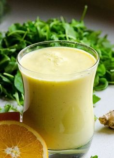 Orange Ginger Salad Dressing - Winter citrus dressing to dress up spinach, arugula, kale salad with veggies of choice.