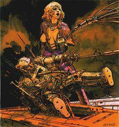 The Vault of Retro Sci-Fi (Search results for: Moebius) Jean Giraud, Nogent Sur Marne, Moebius Art, Moebius Comics, Serpieri, Jordi Bernet, Heavy Metal Art, Westerns, Science Fiction Art