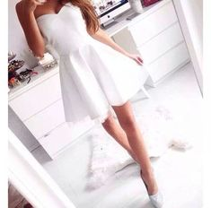 Another little white dress