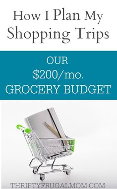 Curious how to grocery shop with coupons to save lots of money? Here's how I plan my shopping trips for our $200/mo. grocery budget. You'll be surprised at how simple it is!