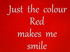 Color Red...