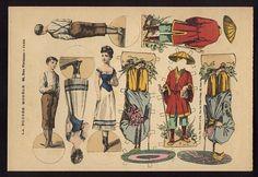 The 2008 Paper Doll Convention Archive: La Poupee Modele