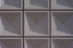 Claus En Kaan Architecten.  Detail of Cladding to External Wall