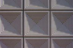 Claus En Kaan Architecten.  Detail of Cladding to External Wall