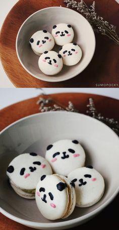 Sumopocky: Panda Macaron RecipeReally nice recipes. Every Mein Blog: Alles rund um Genuss & Geschmack Kochen Backen Braten Vorspeisen Mains & Desserts!