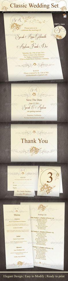 Menu Card Template, Printable Wedding Menu, Dinner Party Menu, DIY - dinner party menu templates free download