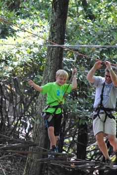 TreeTops Adventure Course at Camelback Mountain Adventures! #MyCamelback