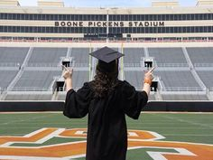 Oklahoma State University graduation picture