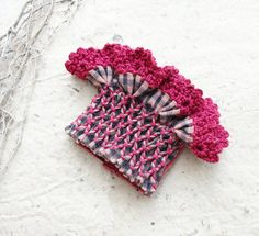 The Sense of Touch and Textures  Textile Cuff  by StaroftheEast, $78.00