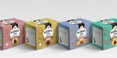 Bonn's & Co is the perfect addition to snack time.Agency Spring UK designed the packaging for these flame-baked crackers that go well with  practically any topping.