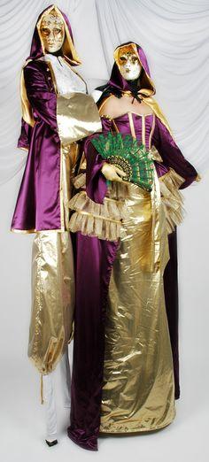 Dream - Various Stilt Walkers | London| UK - Venetian Masked Ball Stiltwalkers