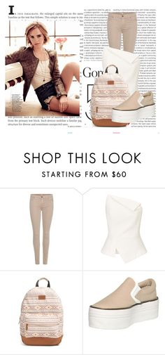 """""""Sans titre #832"""" by tva-lpz ❤ liked on Polyvore featuring Oris, Emma Watson, 7 For All Mankind, Roland Mouret, Rip Curl and Jeffrey Campbell"""