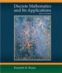 Discrete Mathematics and Its Applications: Kenneth H. Rosen: 9780073312712: Amazon.com: Books