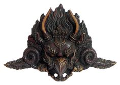 Garuda Face - Wall Hanging Mask (Stone Dust)