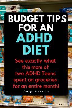 Teen Diet, Allergy Free Recipes, Healthy Recipes, Adhd Odd, Adhd Help, Adhd Brain, Adhd Diet, Adhd Strategies, Healthy School Lunches