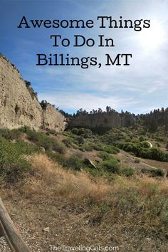 Billings, Montana is a great city full of history, culture, and picture perfect views. Here are some things to do in Billings whether you are just passing through or staying for a few days! #Billings #Montana