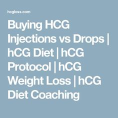 Buying HCG Injections vs Drops | hCG Diet | hCG Protocol | hCG Weight Loss | hCG Diet Coaching
