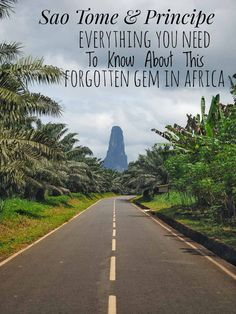 Sao Tome & Principe, often just called Sao Tome, is the second smallest country in Africa only after the Seychelles. Travel in Africa. Best Places To Travel, Places To Go, African Holidays, Travel Advice, Travel Guide, Travel Ideas, Travel Articles, Travel Goals, Island Nations