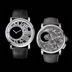 One of the biggest watch events of the year, SIHH introduces 2 new Cartier watches for men amongst other big name unveilings. Get a sneak peak of them here.