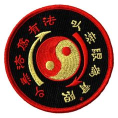 Core Symbol Embroidered Patch | Shop the Bruce Lee Official Store