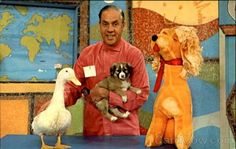 """For those of us who grew up in the """"Chicagoland Area""""... Ray Raynor, Chauncey the duck, Chelveston the puppy and Cuddly Dudly. I loved my Cuddly Dudley stuffed dog. It was always exciting when Christmas came near. He would play the Hardrock, Coco and Joe, and Suzy Snowflake cartoons!"""