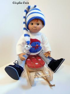 Hey, I found this really awesome Etsy listing at https://www.etsy.com/listing/494598241/sweater-hat-and-legging-blue-and-white