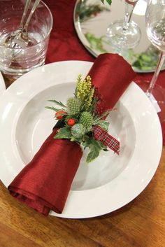 Christmas Table | Christmas Place Setting