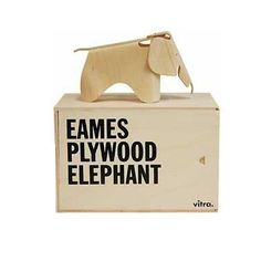 Vitra Miniature Plywood Elephant by Ray and Charles Eames