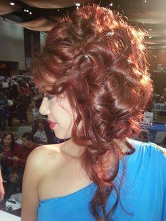 Hair by Aquage platform artist Heaven Padgett