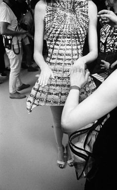 Vita Hewison shoots London Fashion Week SS 2014 for Interview Magazine