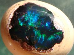 Nebula......No it's an opal. Picture by Jeff Schultz