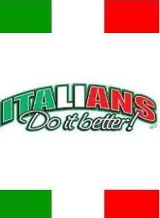 Italians do it better.. Forza Azzurri!!!