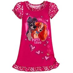 Lady and the Tramp Nightshirt for Girls PJ's for Isla. Disney Princess Costumes, Disney Princess Pictures, Disney Outfits, Girl Outfits, Disney Clothes, Disney Pajamas, Cool Kids Clothes, Girls Sleepwear, Lady And The Tramp