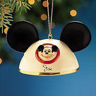 Disney's My Own Mickey Mouse Ears Boy Ornament by Lenox