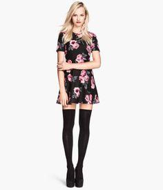 Patterned Dress   H&M US