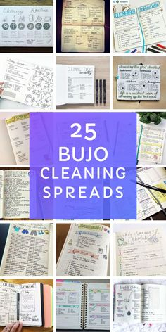 25 Bullet Journal Cleaning Schedule Spreads {to turn you into a domestic goddess!} - These bullet journal cleaning spread ideas are just what you need to stay on top of your chores! Keeping A Bullet Journal, Bullet Journal Tracker, Bullet Journal Hacks, Bullet Journal Ideas Pages, Bullet Journals, Daily Journal, Cleaning Quotes, Cleaning Hacks, Bullet Journal Cleaning Schedule