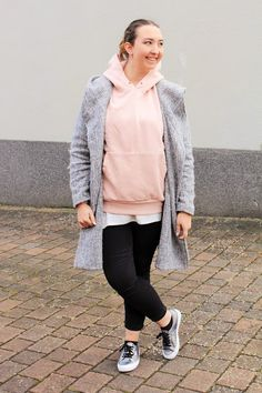 Beautiful Style: Outfit Post - #Hoodie Casual &  Schick