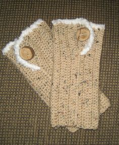 Crochet Leg Warmers Boot Cuffs by SplendourInTheGrass on Etsy