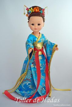 MUÑECA NANCY DE FAMOSA. GEISHA. CUSTOM. - Foto 1 Geisha, Nancy Doll, Doll Patterns, American Girl, Doll Clothes, Nostalgia, Dolls, Disney Princess, Crochet