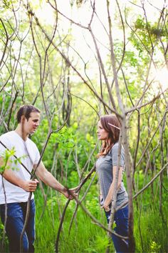 abandoned lot engagement session