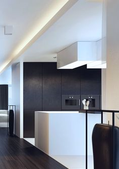 Media Room & Dining Room Cove Concept  Aparrtment in Poland, Bielsko-Biala project by Kuoo Architects