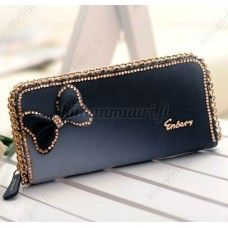 Cheap wallet styles, Buy Quality wallet hook directly from China wallet locator Suppliers: New fashion Crystal long style handbag lady girl wallet bow butterfly diamond women wallet Drop shipping Ebay Shopping, Womens Purses, Long Wallet, Luxury Handbags, Clutch Wallet, Wallets For Women, Bling Bling, Michael Kors Jet Set, Purses And Bags