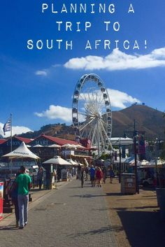 Planning a trip to South Africa. A step-by-step travel guide! Covering Cape Town, Johannesburg & Durban! Find out when to go, what to pack, where to visit & more!